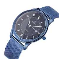 Reloj de cuarzo Senors para hombre, reloj de pulsera de acero inoxidable para hombre, reloj de pulsera SN133