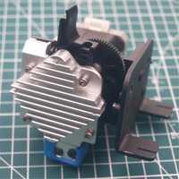 Unids 1 unidad Tornado clon 3D impresora Titan Aero extrusor Creality CR-10 Titan Aero montaje completo kit 1,75mm 0,4mm