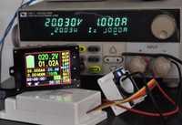 Monitor de batería medidor DC 120 V 100A inalámbrico Digital amperímetro del voltímetro de la temperatura de vatios capacidad de descarga de carga