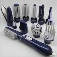 10 En 1 aire caliente Styler del pelo 2 velocidad Pro plancha de pelo y Rizadores hierro y secador y cepillo set eléctrico herramientas
