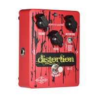 BIYANG DS-12 Pedal de efectos de guitarra clásica serie distorsión 3 modos Bypass verdadero la carcasa de Metal apoyo Transferencia de señal