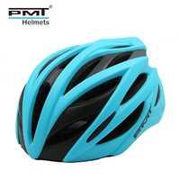PMT ciclismo de carretera casco 2018 bicicleta se especializan cascos de bicicleta para los hombres MTB bicicleta de montaña timón mujeres 22 agujeros ultraligero 240g L rojo