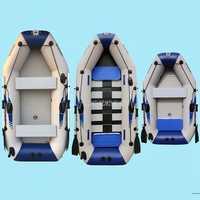 0,7mm PVC bote inflable bote de pesca barco de remos para la deriva Sufing con aluminio remos y bomba de aire 2- 3/3-4/4-5 personas