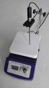 Agitador magnético Digital, 17x17 cm placa caliente, 4000 ml capacidad, Control de temperatura, 110 V o 220 V