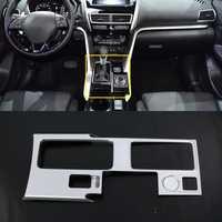 Para conducir a la izquierda. Para Mitsubishi Eclipse Cross 2017-2018 accesorios para coche-estilo caja de engranajes Panel decoración cubierta de ajuste 2 *