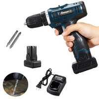 24 V Max destornillador eléctrico Taladro Inalámbrico Mini inalámbrico controlador de potencia DC batería de iones de litio 3/8-2 pulgadas -velocidad LED