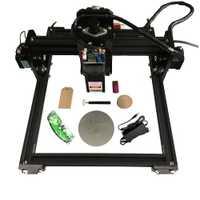 15000 mw láser máquina de grabado de 15 W láser de madera de cabeza Router PCB de Metal de vidrio de la máquina de fresado máquina de talla de madera DIY mini CNC