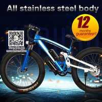 26 pulgadas 36 V 10.4ah batería 250 W motor partido fat bike 21 velocidades playa Montaña bicicleta grasa neumático bicicleta eléctrica para la venta