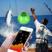 Buscador de peces con Sensor de sonido sonoro inalámbrico para Android IOS FF916 50 M/130ft marina Findfish