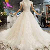 AIJINGYU Dres DE BODA Federación de Rusia el Líbano Shanghai Plus tamaño pakistaní 2018 vestidos de boda y vestidos
