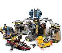 Batman serie secreto sede Batcave rompimiento bloques de construcción ladrillos modelo de película niños juguetes Marvel Compatible Legoings