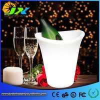 Integral de cubo de hielo LED de Carga inteligente de Control remoto de brillo/16 Gradual colores cambiar la Champagne enfriador de vino/titular