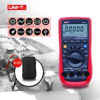 UNI-T UT61A UT61B UT61C UT61D UT61E Ture Rms Multímetro Digital Multiprobador AC DC Medidor de Software de CD y Retención de Datos + regalo