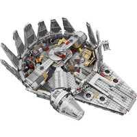 Figuras del Halcón del milenio de 79211 LegoINGLYS compatibles con la serie Wars Set de Star despertar de la fuerza