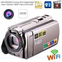 1080 p USB2.0 inteligente inalámbrico Wifi DVR cámara de visión nocturna videocámara Digital IR cámara de visión nocturna