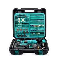 220 V eléctrico doble Mini taladro para herramienta rotativa Dremel de alimentación de enchufe de la UE con herramientas Dremel accesorios Mini molino de herramientas