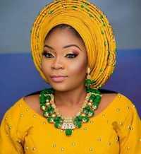 Verde y oro COLLAR COLGANTE conjunto Real cuentas de Coral de Nigeria conjunto de joyería de la boda para las mujeres traje de novia collar conjunto NCL732
