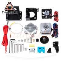 Trianglelab 3d impresora titan Aero V6 salida hotend extrusora kit completo titan extrusora kit completo reprap mk8 i3 Compatible etiqueta ANET