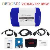 Allscanner vxdiag para BMW multi herramienta de diagnóstico codificación mejor para BMW Icom A2 A3 car doctor para BMW con 500 GB DHL libre