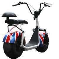 Scooter Eléctrico Citycoco nuevo 1000 w 2 ruedas potente batería de litio asiento doble motocicleta hombres mujeres eléctrico Citycoco Scooter