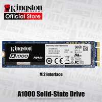 Kingston interno de estado sólido de disco duro de 240G 480G 960G A1000 NVMe M.2 2280 SSD NVMe SSD para PC portátil Ultrabook