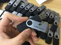 Unidad Flash USB 16 gb llave colgante logotipo personalizado
