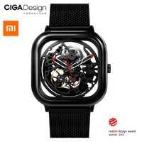 Xiao mi mi jia mi CIGA conception évidé montre-bracelet mécanique montre Reddot Winner inoxydable mode luxe montres automatiques
