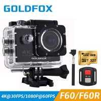 2019 lo más nuevo 4 K WIFI cámara de acción deportiva 4 K Ultra HD Go impermeable subacuática pro 30 M videocámara 16MP gran angular de 170 grados