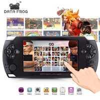 De los jugadores con 4,3 pulgadas HD pantalla juego 32bit portátil consolas de juego soporte PS1 GBA copia juego archivo con 8 GB de RAM