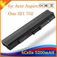 Yhr para Acer Aspire One 521 752 752 H tiempo 181 AS1410 1410 1810TZ 1410 T 1810 T UM09E31 UM09E32 UM09E36 batería del ordenador portátil HK04