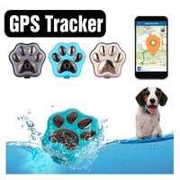 Rastreador de actividad inteligente Mini mascotas GPS rastreador WiFi Anti-pérdida para Collar de mascota IP66 localizador de llaves a prueba de agua equipo