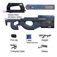 Kriss de v2 M4A1-J9 gen 9 JM de gel de agua arma electrónica material de Nylon armas juguetes para los niños