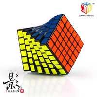 QiYi 6X6 CUBE X-MAN diseño 6x6x6 versión magnética Mofangge Magic Cube puzle 6x6 Speed Cube juguetes educativos profesionales