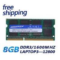 KEMBONA ordenador portátil memoria DDR3L DDR3 8 GB 1600 MHz PC3-12800 1,35 V KBN16LS11/8 no-ECC CL11 SODIMM Intel memoria Ram