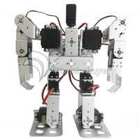 11dof biped Robotics 2 patas soporte robot humanoide Marcos kit con servo metal cuerno y servos