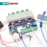 4 ejes usbcnc controlador puerto USB con control de mano CNC controlador CNC para rattm motor