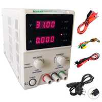 KD3003D de alta precisión DC fuente de alimentación ajustable Digital 30 V 3A 0,01 V 0.001A precisión regulador de voltaje de alimentación de laboratorio