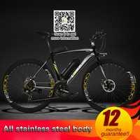 36 V 10A/15A/20A bicicleta eléctrica de litio, 700C bicicleta de carretera eléctrica asistida con energía eólica rota