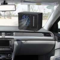 Aire acondicionado portátil para coches 12 V ajustable 60 W coche aire acondicionado enfriador ventilador de refrigeración agua hielo evaporador
