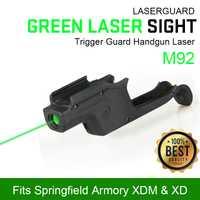 PPT táctico láser verde vista para M92 caza tiro alcance gs20-0040
