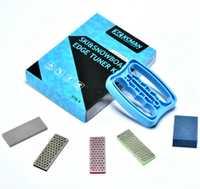 XCMAN alpino Freeride Snowboard borde bisel ajuste Kit de borde cuidado Kit-lado de ángulo herramienta + 3 diamantes archivo + Goma de piedra