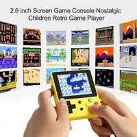 2,6 pulgadas Pantalla de mano juego consola juguete niños divertido nostálgico Retro juego jugador educación aprendizaje máquina juguetes para niños