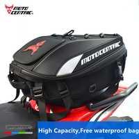 2018 nueva marca impermeable de la motocicleta de la cola bolsa multifunción trasero de la motocicleta asiento bolso de alta capacidad de la motocicleta jinete mochila