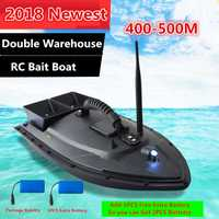 Extra batería Remote Contorl mar RC Barco de cebo de pesca de 2011-5 500 M doble cebo bueno Motor1.5KG carga RC inteligente barco de pesca