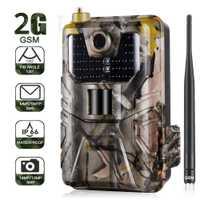 20MP 1080 P caméra de suivi de la faune pièges Photo Vision nocturne 2G SMS MMS SMTP courriel caméras de chasse cellulaires HC900M Surveillance