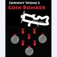 Bombardero de La Moneda (moneda de Morgan)-Trucos de magia, moneda, truco, ilusión, cerca, prop, mentalismo