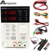KORAD KA3005D de precisión Digital ajustable fuente de alimentación DC programable laboratorio fuente de alimentación 30 V 5A + portátil AC DC JACK teléfono