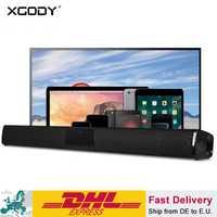 XGODY BS-28A Home Theater Bluetooth Soundbar TV Super Bass altavoz estéreo altavoces barra de sonido con altavoz Subwoofer para TV