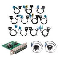 Conjunto completo de Cables para Digiprog III Digiprog 3 odómetro programador SM33-F incluye 48 artículos