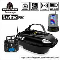 Navitec PRO V2 carpa pesca nocturna anchos señuelo bote de pesca con Sonar BC151 buscador de peces de Color y piloto automático GPS 500M RC
